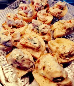 Fisch canapees